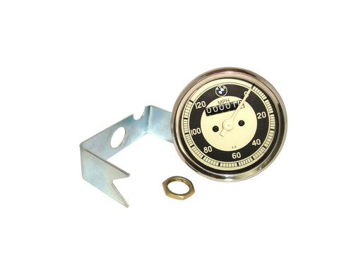 Rare New 0-120 M/HR Speedometer Fits Vintage ,R50,69S Models available at Online at Royal Spares