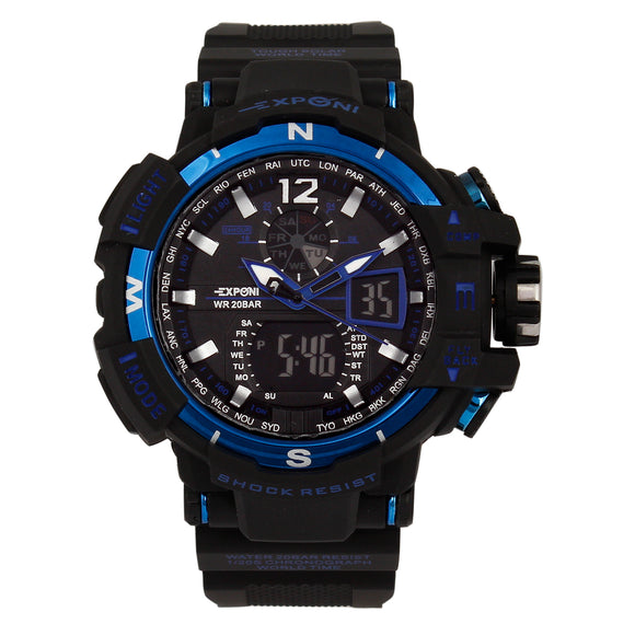 Exponi Blue Sport Watch