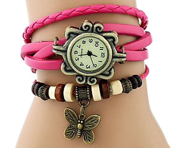 Pink Vintage watch for Women