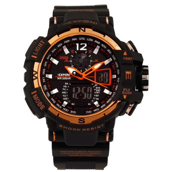 Exponi Orange Sports Watch