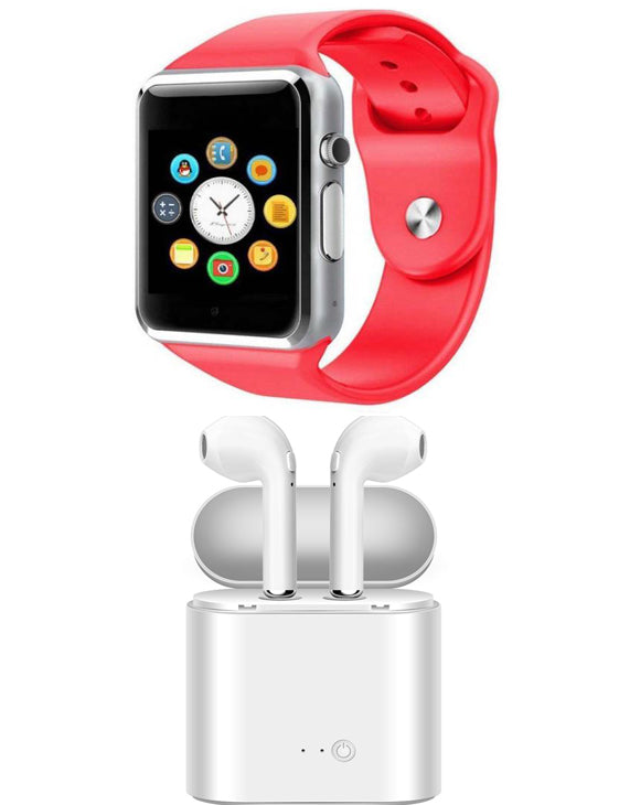 KEN Smart Watch with Earpods Combo