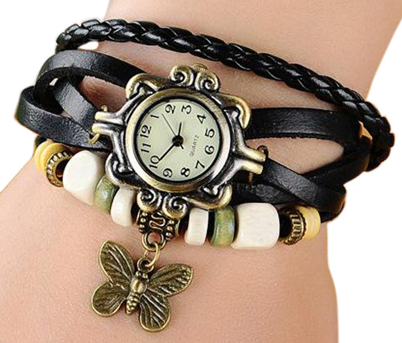 Black Vintage Watch for Women