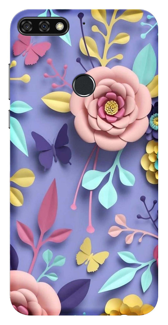 Designer Collection Back Cover for Huawei Honor 7C