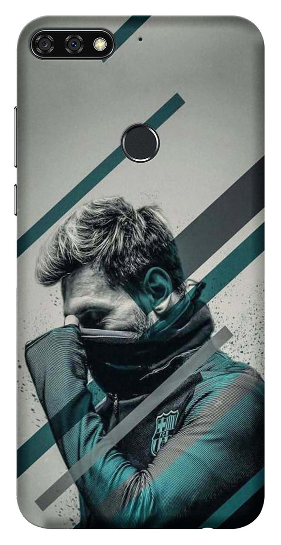 Sports Collection Back Cover for Huawei Honor 7C