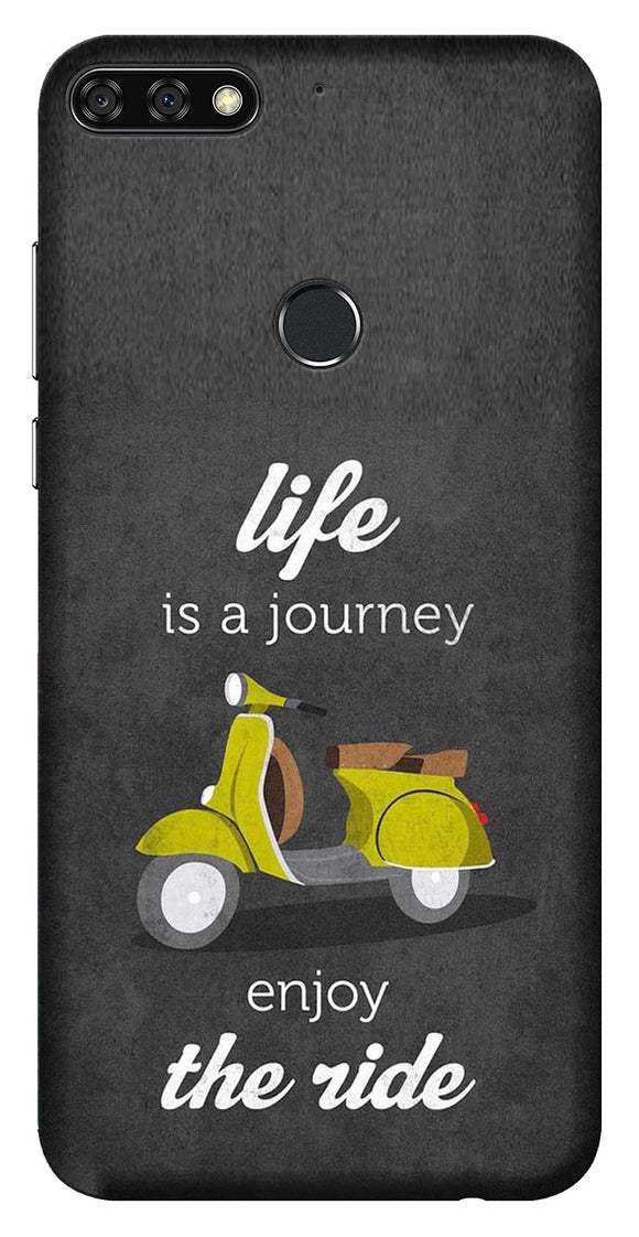 Quotes Collection Back Cover for Huawei Honor 7C