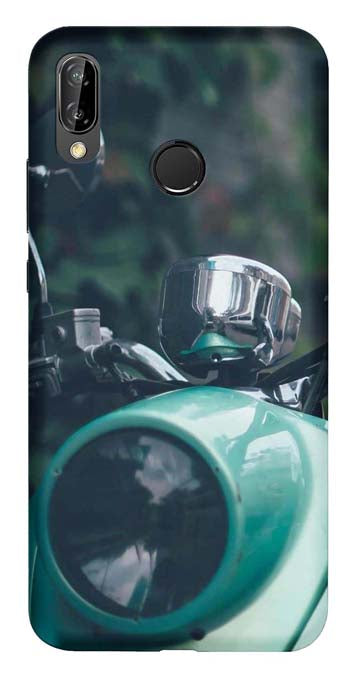 Bikes & Cars Collection Back Cover for Huawei Honor 8C