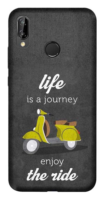 Quotes Collection Back Cover for Huawei Honor 8C