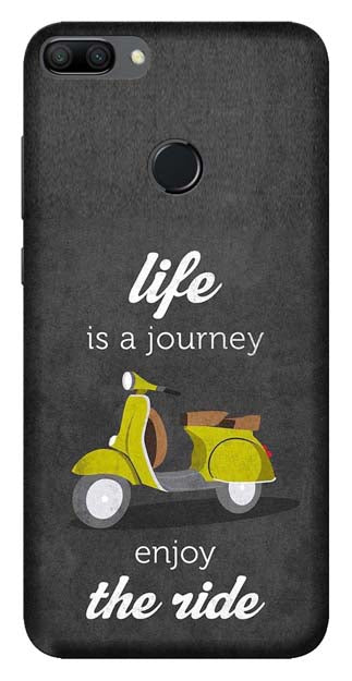 Quotes Collection Back Cover for Huawei Honor Y9 2018