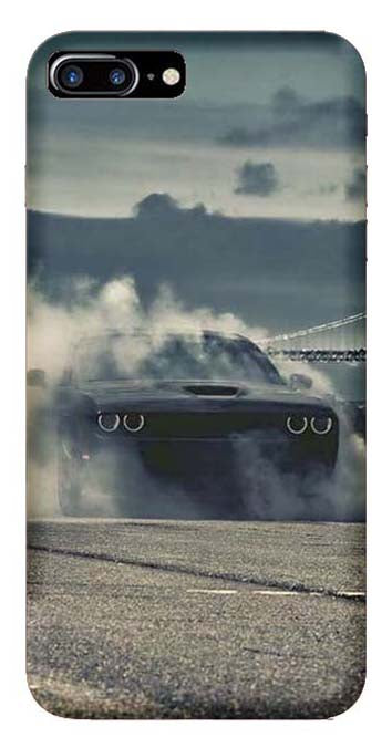 Bikes & Cars Collection Back Cover for Apple iPhone 8 Plus