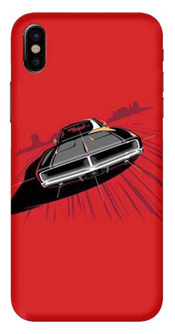 Bikes & Cars Collection Back Cover for Apple iphone X