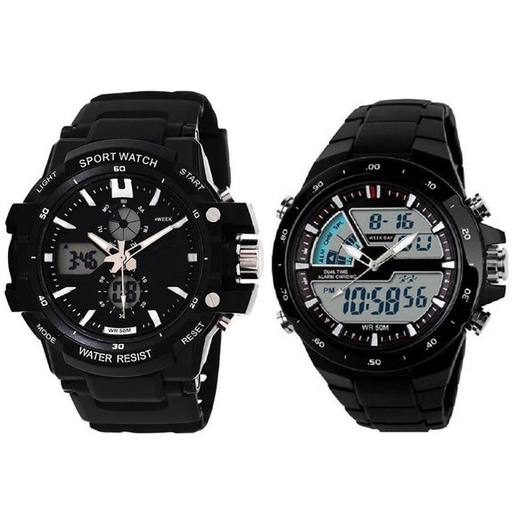 KEN Mens Sports and Chronograph Watches