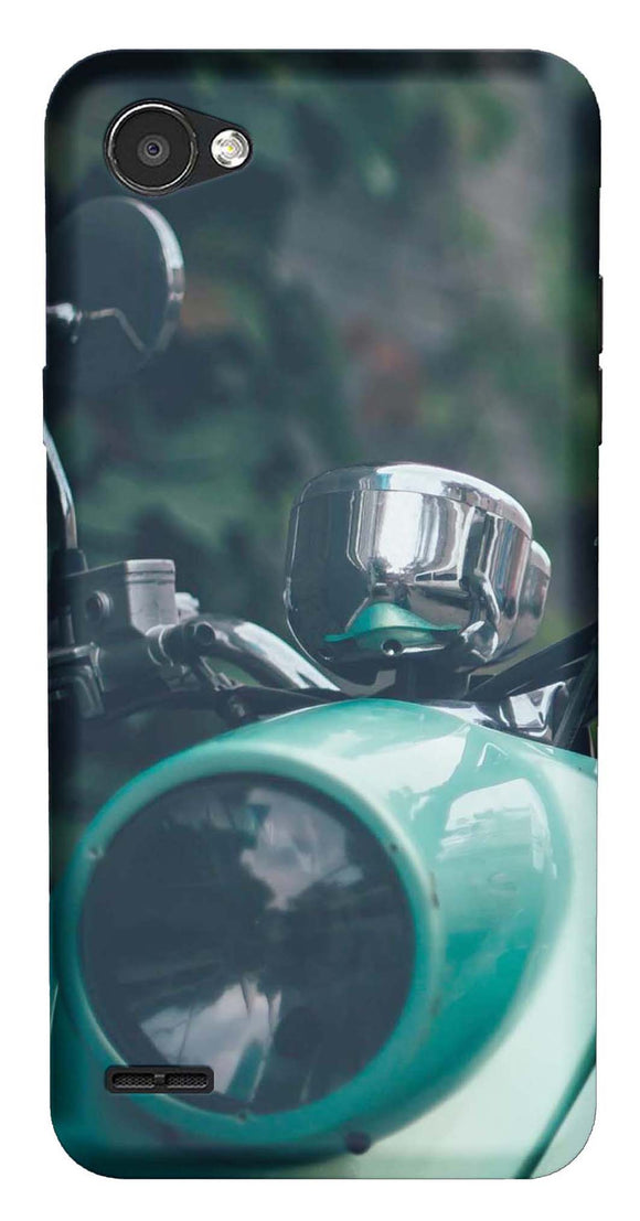 Bikes & Cars Collection Back Cover for LG Q6 Plus