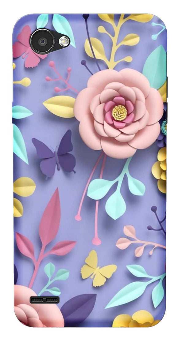 Designer Collection Back Cover for LG Q6 Plus