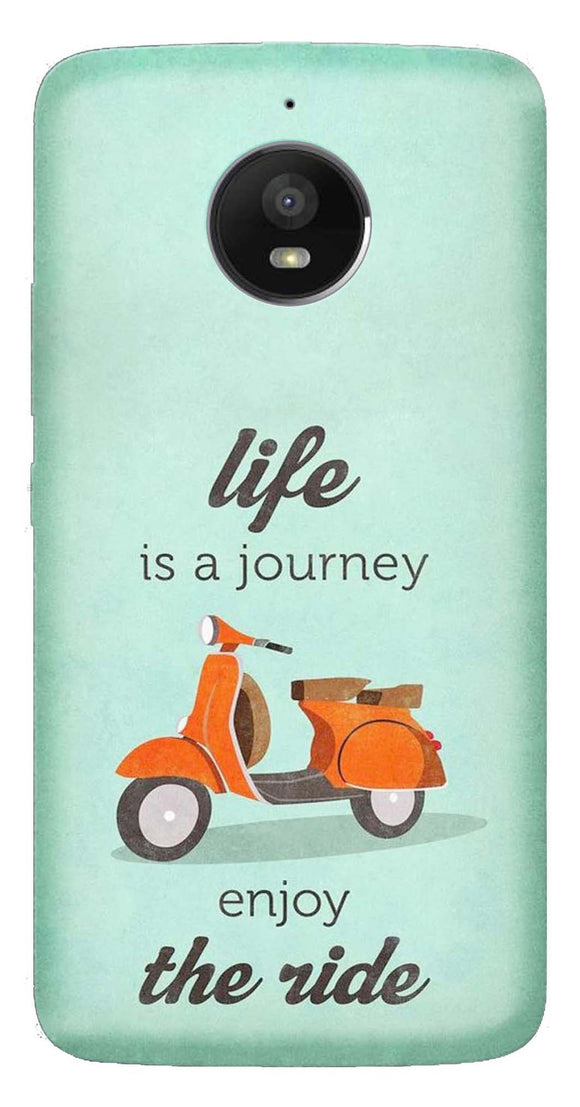 Quotes Collection Back Cover for Moto E4 Plus