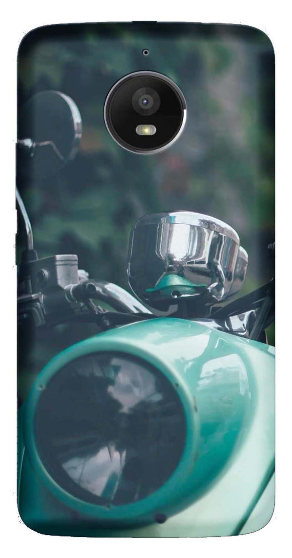 Bikes & Cars Collection Back Cover for Moto E4