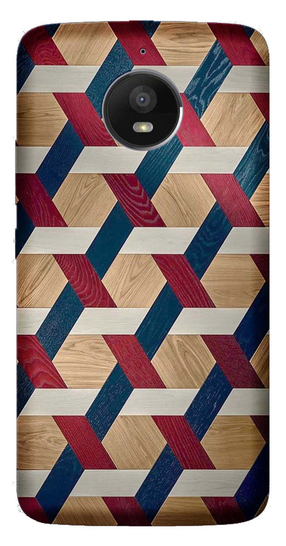 Designer Collection Back Cover for Moto E4