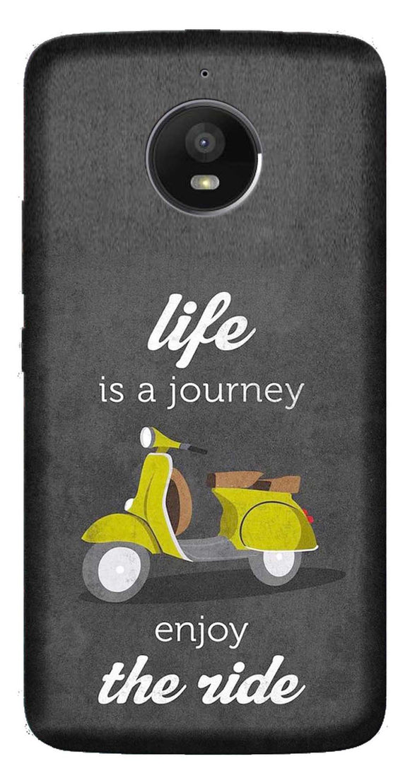 Quotes Collection Back Cover for Moto E4
