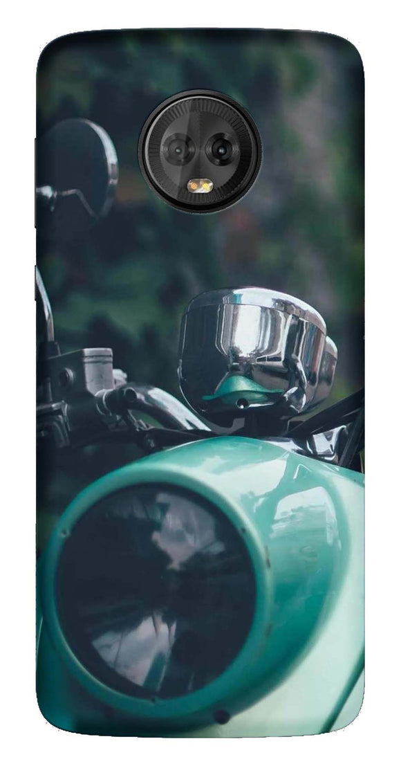 Bikes & Cars Collection Back Cover for Moto G6 Plus