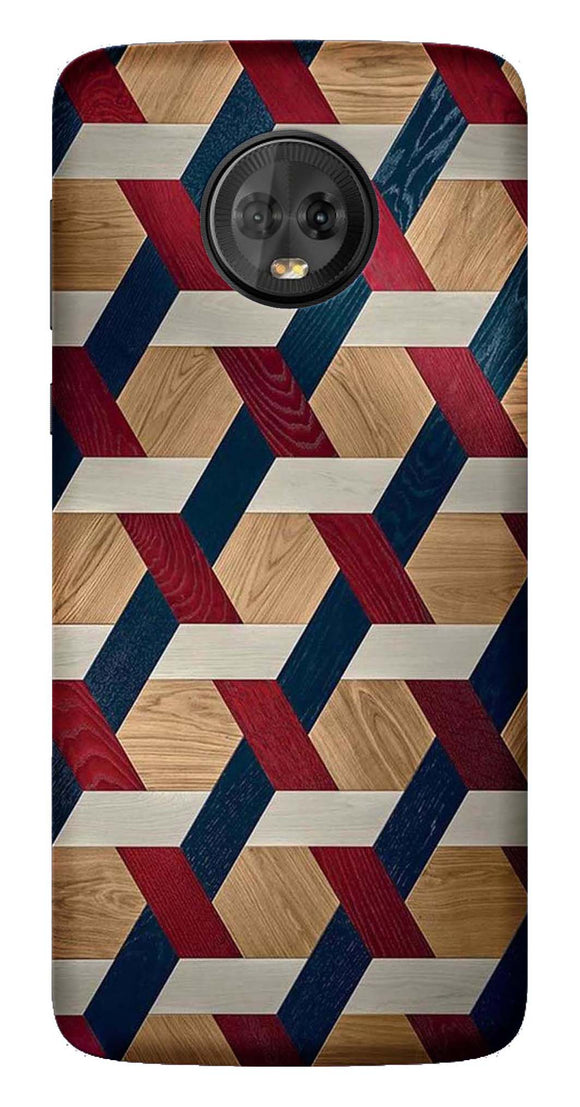 Designer Collection Back Cover for Moto G6 Plus
