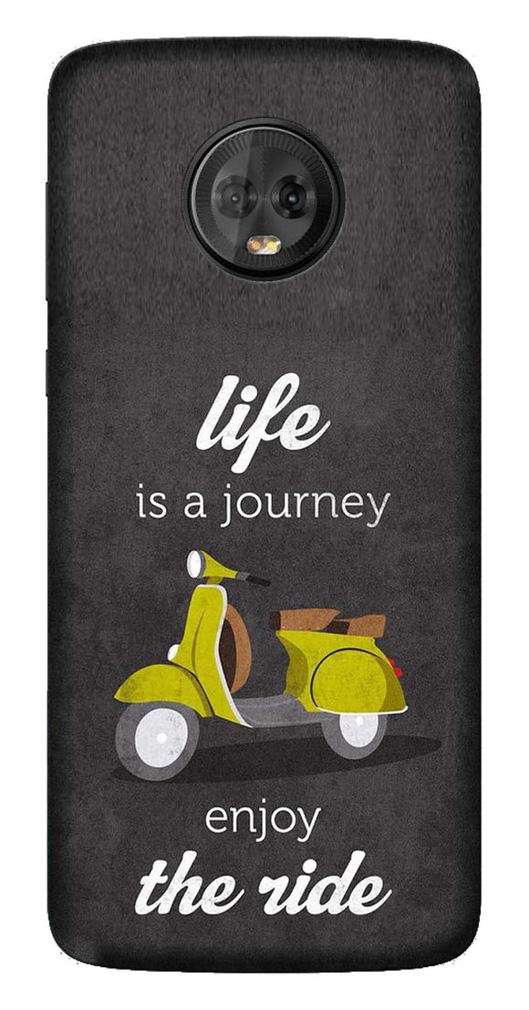 Quotes Collection Back Cover for Moto G6 Plus