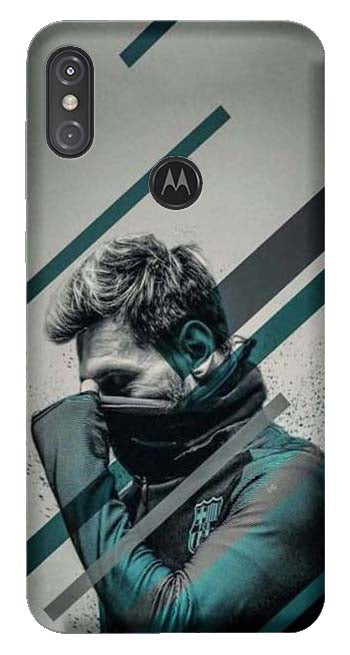 Sports Collection Back Cover for Moto One Power