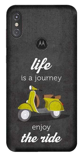 Quotes Collection Back Cover for Moto One Power