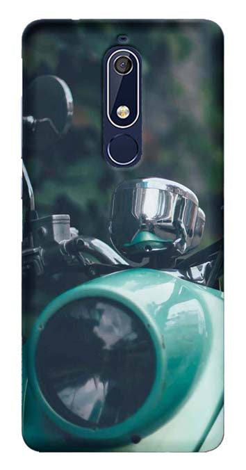 Bikes & Cars Collection Back Cover for Nokia 5.1