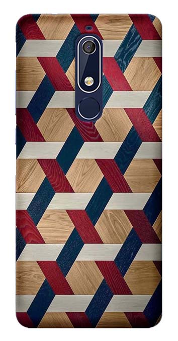 Designer Collection Back Cover for Nokia 5.1