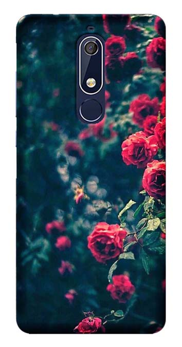 Nature Collection Back Cover for Nokia 5.1 Plus