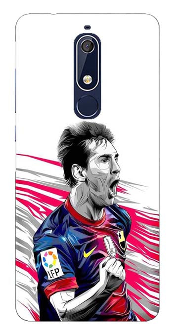 Sports Collection Back Cover for Nokia 5.1 Plus