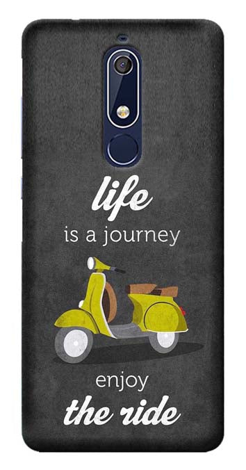 Quotes Collection Back Cover for Nokia 5.1