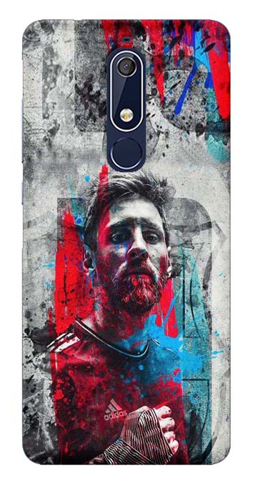 Sports Collection Back Cover for Nokia 5.1