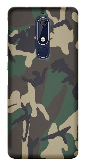 Trendy Collection Back Cover for Nokia 5.1 Plus