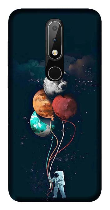 Trendy Collection Back Cover for Nokia 6.1 Plus