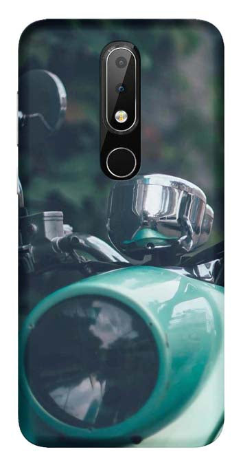 Bikes & Cars Collection Back Cover for Nokia 6.1 Plus