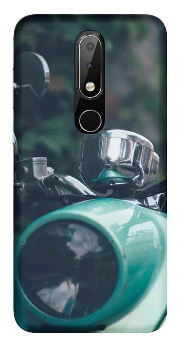 Bikes & Cars Collection Back Cover for Nokia 7.1 Plus
