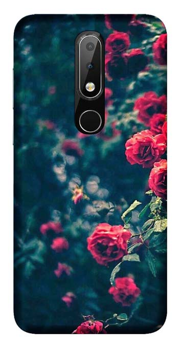 Nature Collection Back Cover for Nokia 6.1 Plus