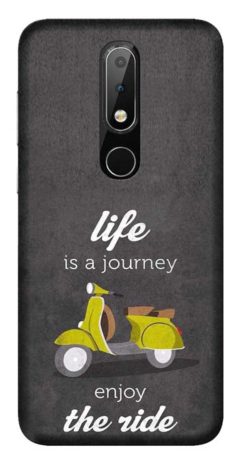 Quotes Collection Back Cover for Nokia 6.1 Plus
