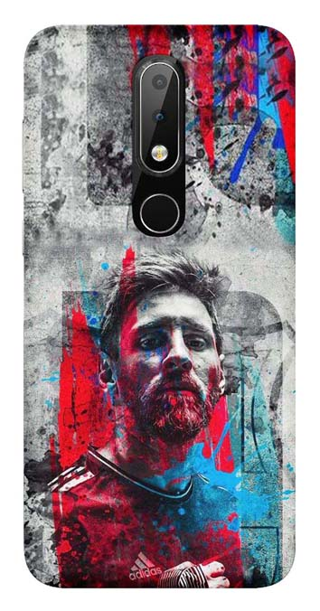 Sports Collection Back Cover for Nokia 6.1 Plus