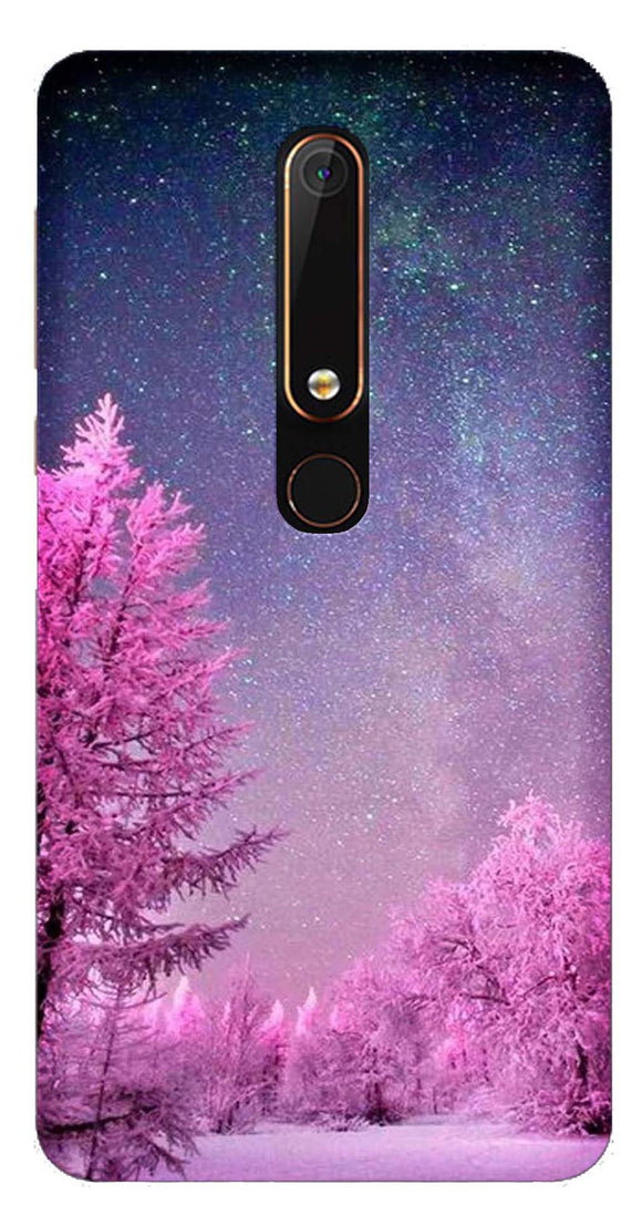 Nature Collection Back Cover for Nokia 6 2018