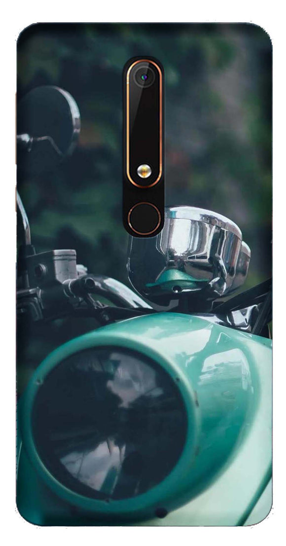 Bikes & Cars Collection Back Cover for Nokia 6 2018