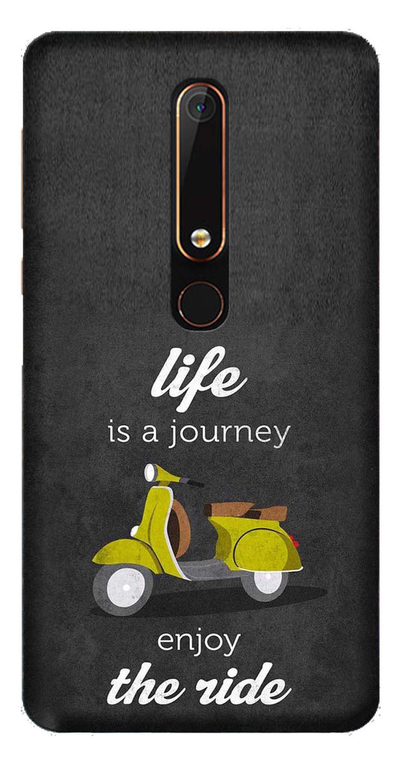 Quotes Collection Back Cover for Nokia 6 2018