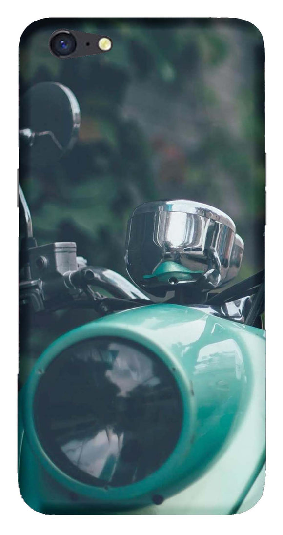 Bikes & Cars Collection Back Cover for Oppo A71