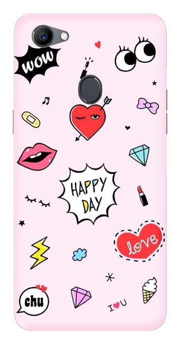 Trendy Collection Back Cover for Oppo A73