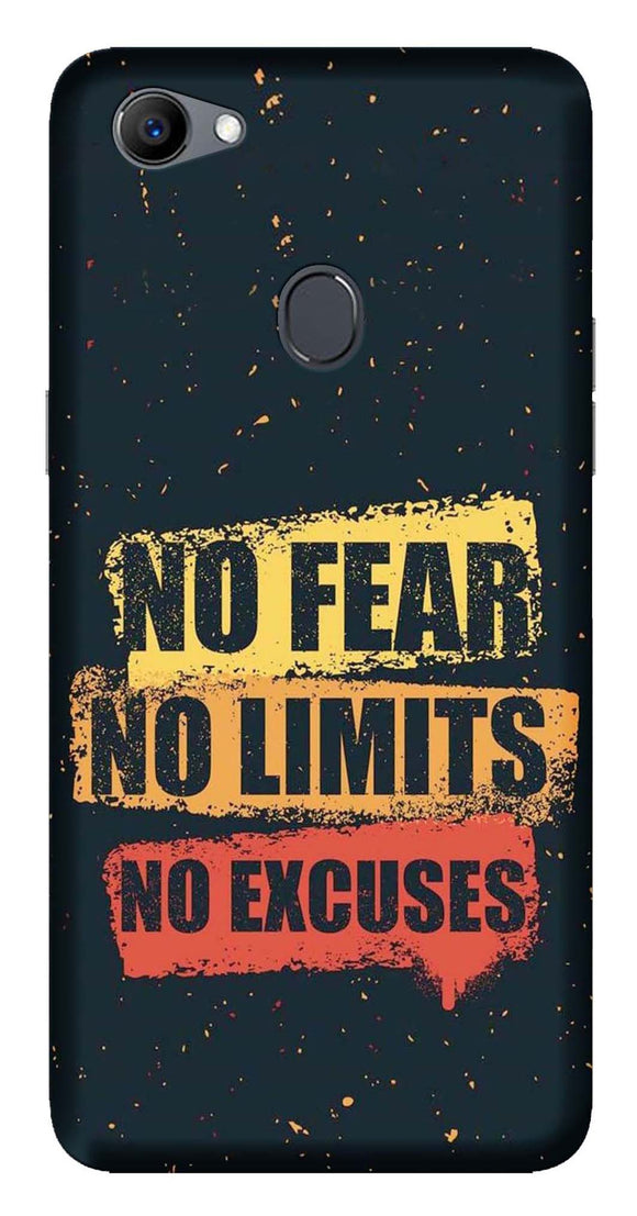 Quotes Collection Back Cover for Oppo F7