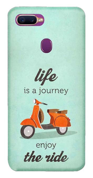 Quotes Collection Back Cover for Oppo F9 Pro