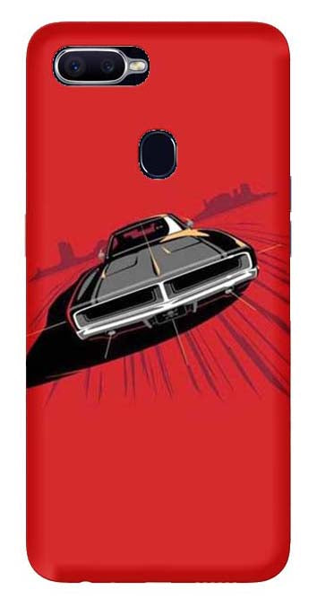 Bikes & Cars Collection Back Cover for Oppo F9 Pro