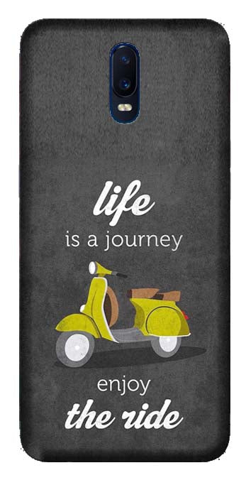 Quotes Collection Back Cover for Oppo R17