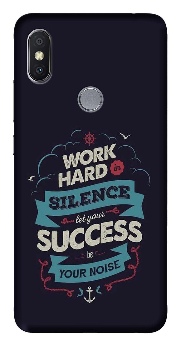 Quotes Collection Back Cover for Xiaomi Redmi Y2