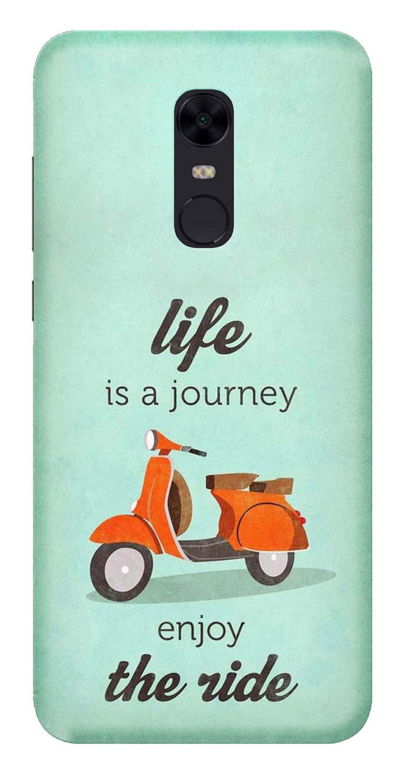 Quotation Collection Back Cover for Xiaomi Redmi 5 Plus